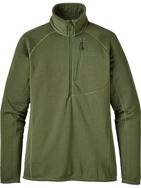Patagonia W's R1 Pullover Buffalo Green